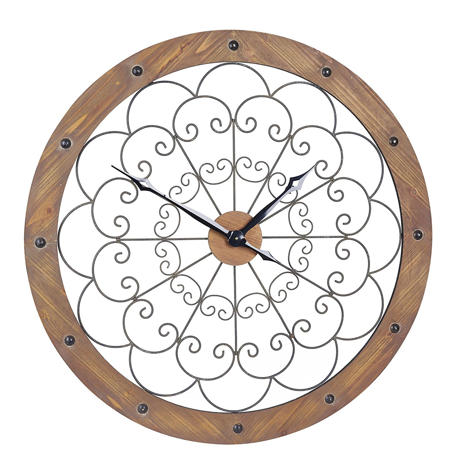 Best Extra Large Decorative Wall Clocks For Extra Statement This Month