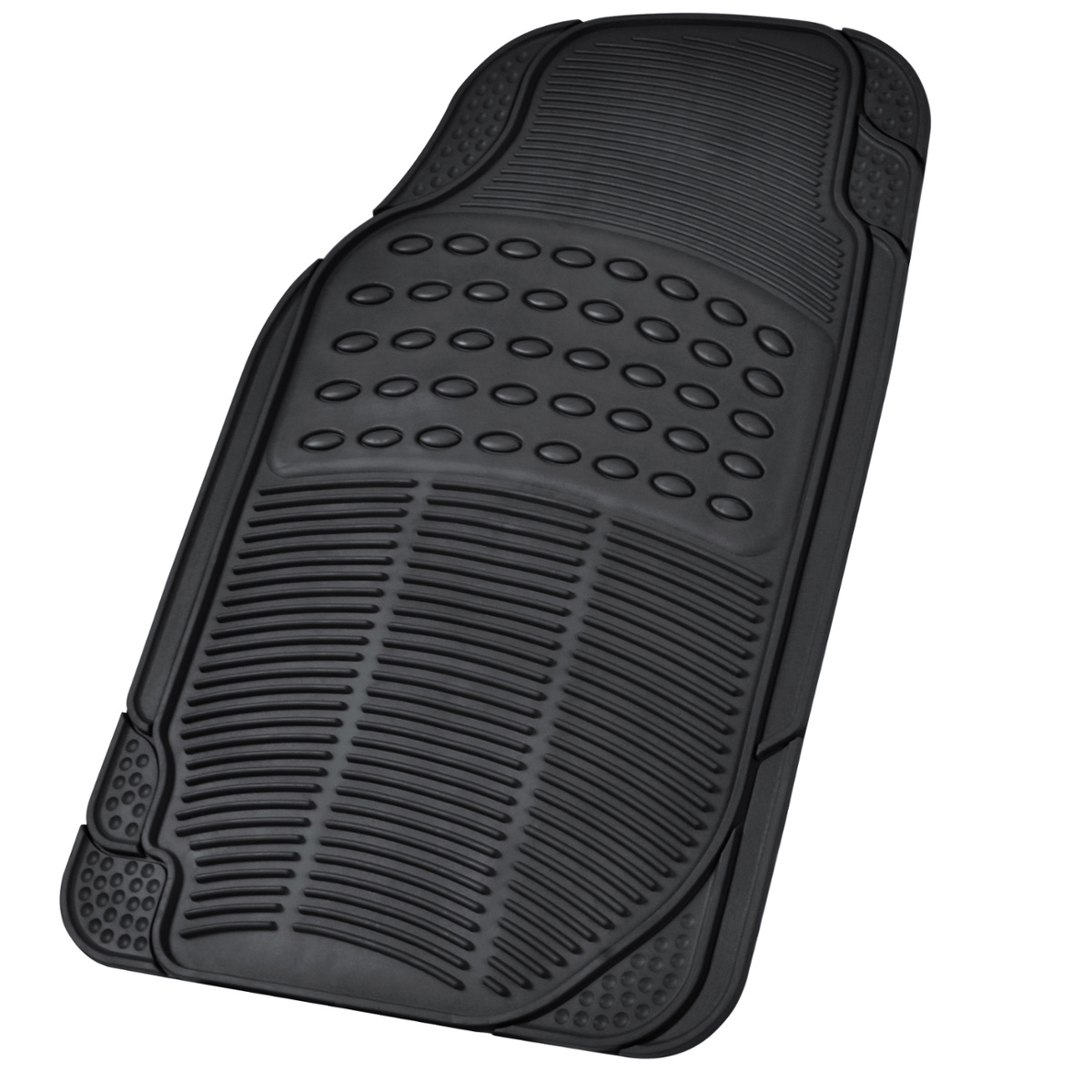 Best Car Rubber Floor Mats Car Suv Truck Black All Weather This Month