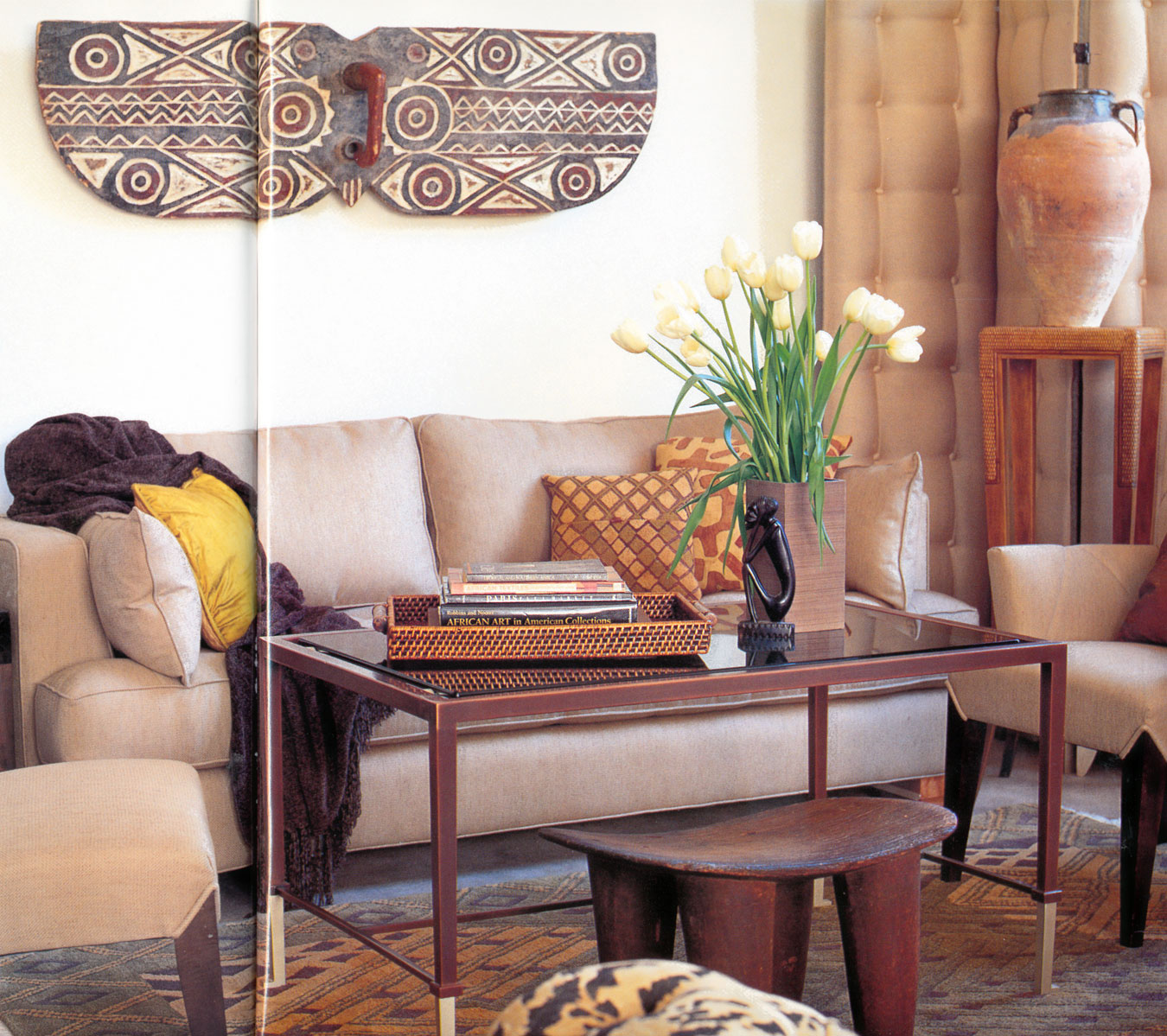 Best Apartmentf15 Decorating With African Masks 2 This Month