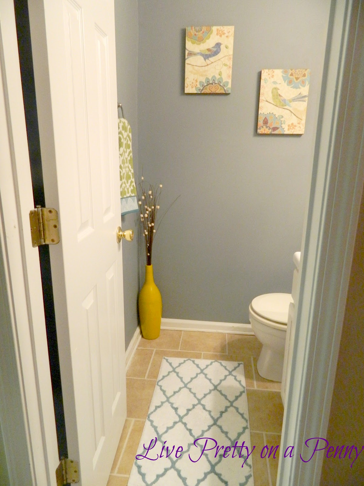 Best Budget Half Bath Makeover Live Pretty On A Penny This Month