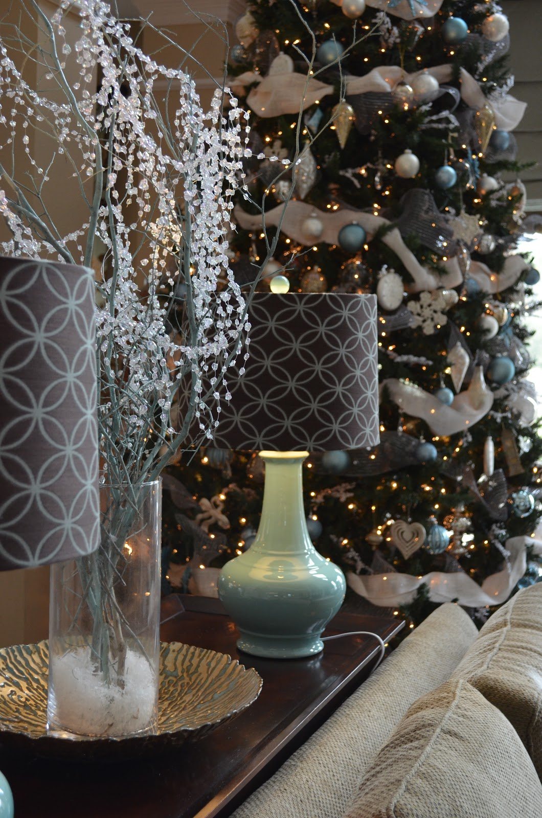 Best Decor Ography Burlap Bling And Blue Our Naturally This Month
