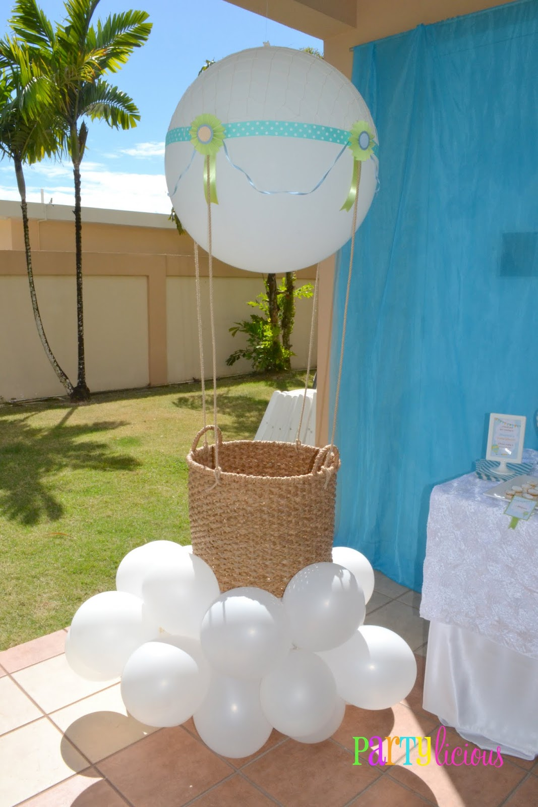 Best Partylicious Events Pr Up Up And Away Baby Shower This Month