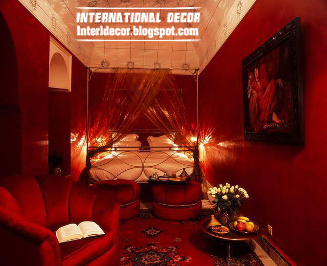 Best Romantic Red Tones In Home Decor Red Color Decorations This Month