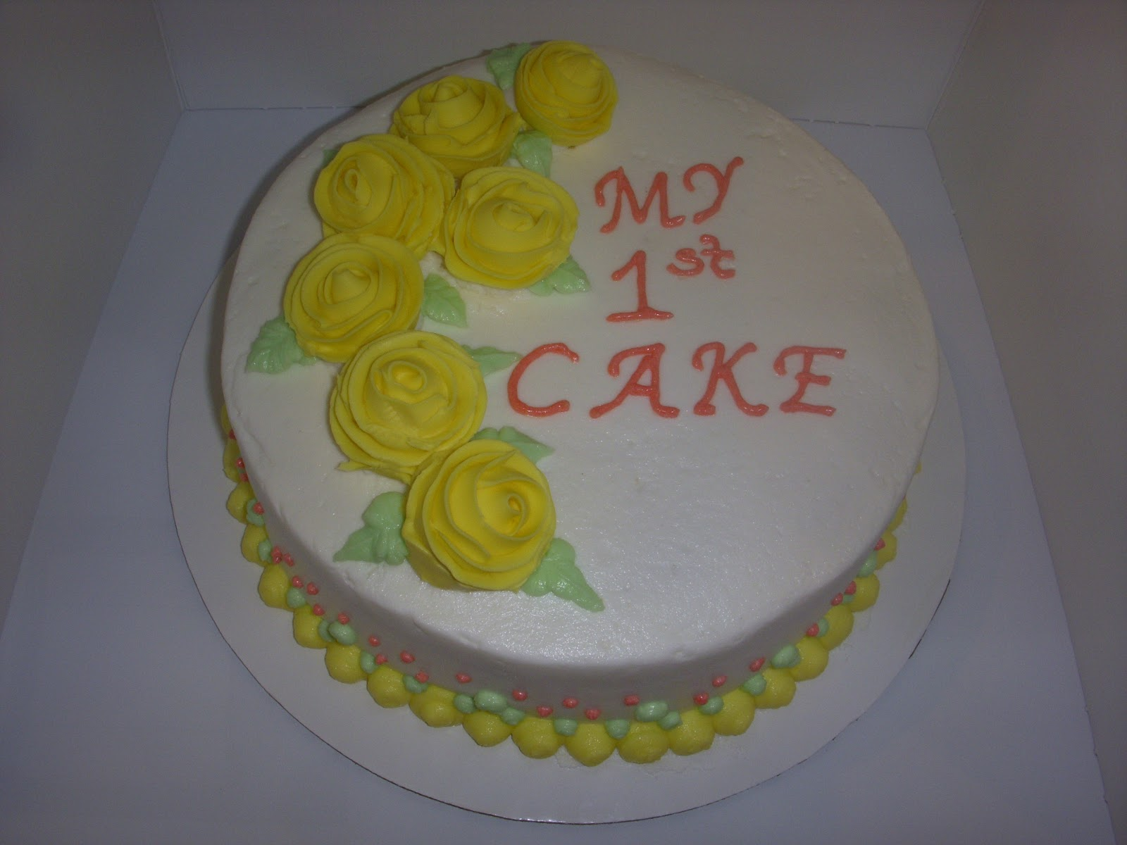 Best Love At First Cake Wilton Basic Cake Decorating Class 4 This Month