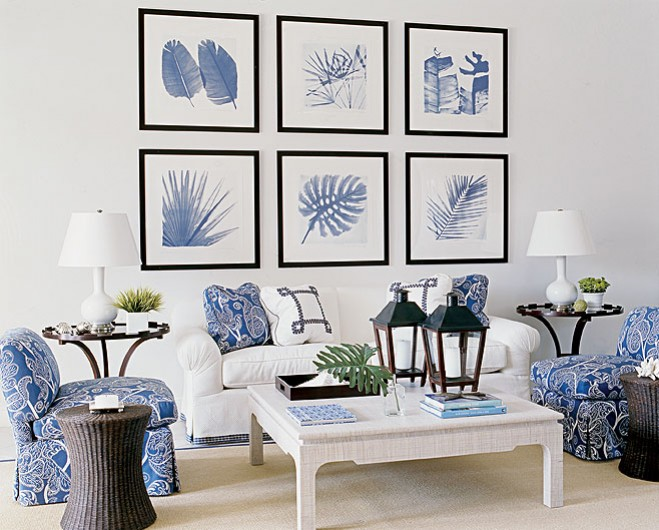 Best Made In Heaven A Beach House In White And Blue This Month