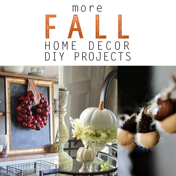 Best More Fall Home Decor Diy Projects The Cottage Market This Month