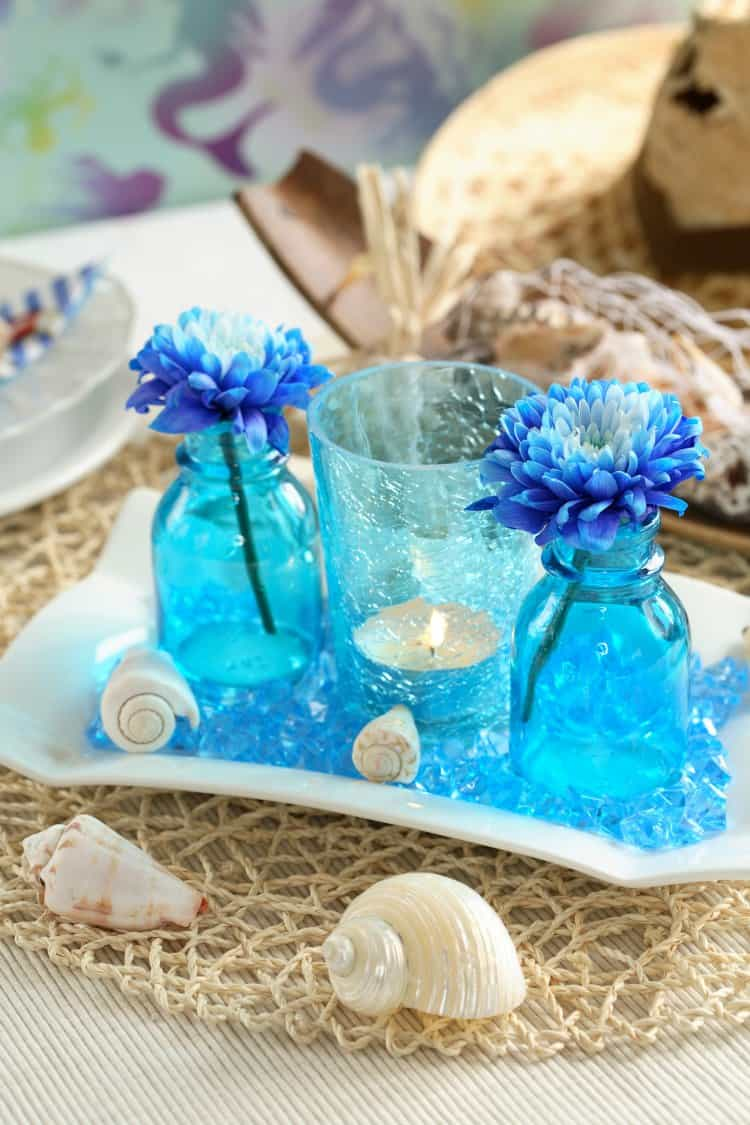 Best Beach Theme Wedding Centerpieces Destination Wedding Details This Month