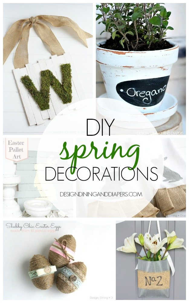 Best Diy Spring Decorations Taryn Whiteaker This Month