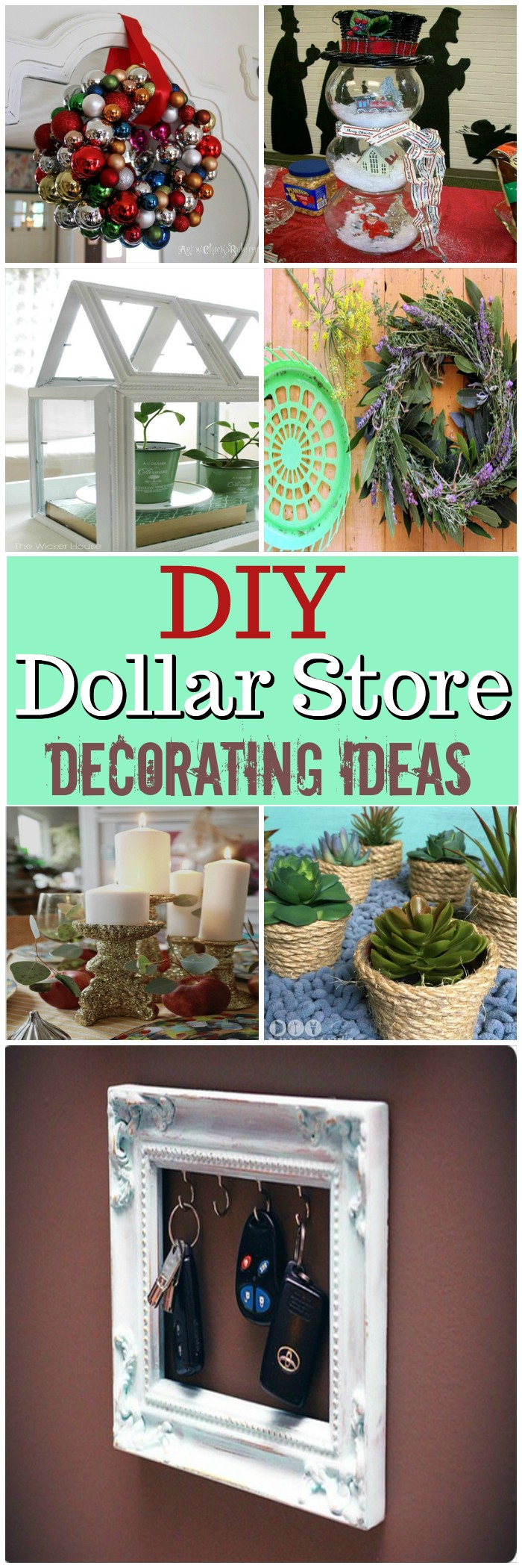 Best Diy Dollar Store Decorating Ideas • Diy Home Decor This Month