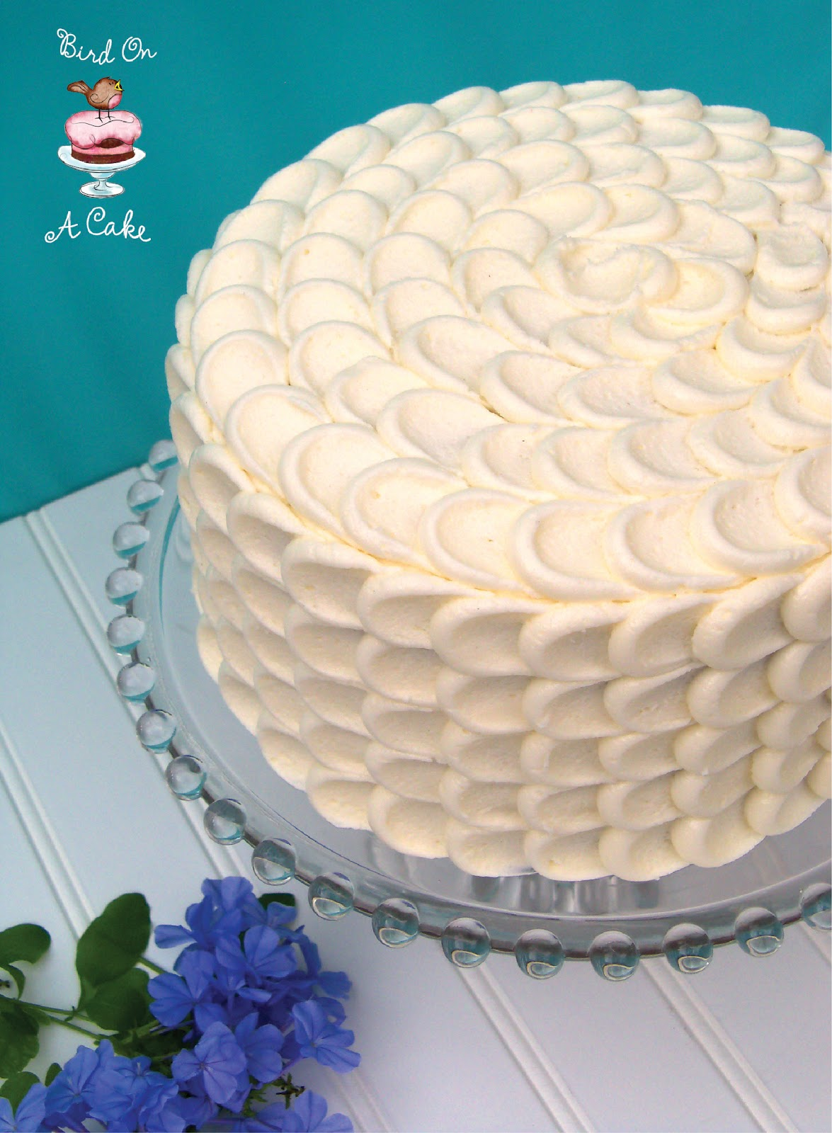 Best Bird On A Cake Hummingbird Cake With Petal Tutorial This Month
