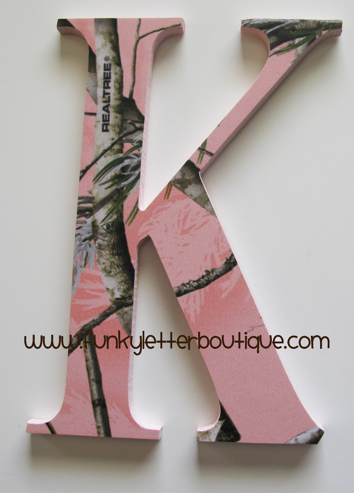 Best The Funky Letter Boutique Pink Realtree Camo Letter Giveaway This Month
