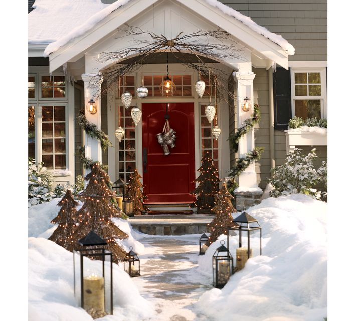 Best Down To Earth Style Rustic Christmas Porch This Month