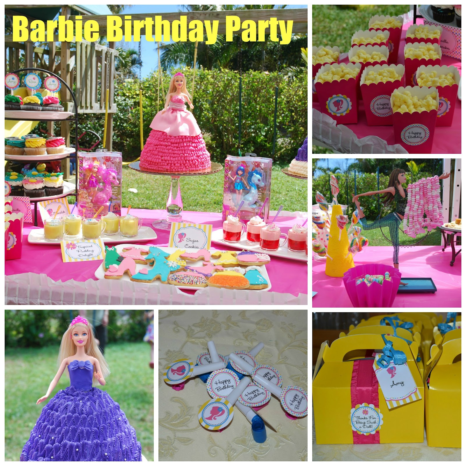 Best Food Family Fun Barbie Birthday Party This Month