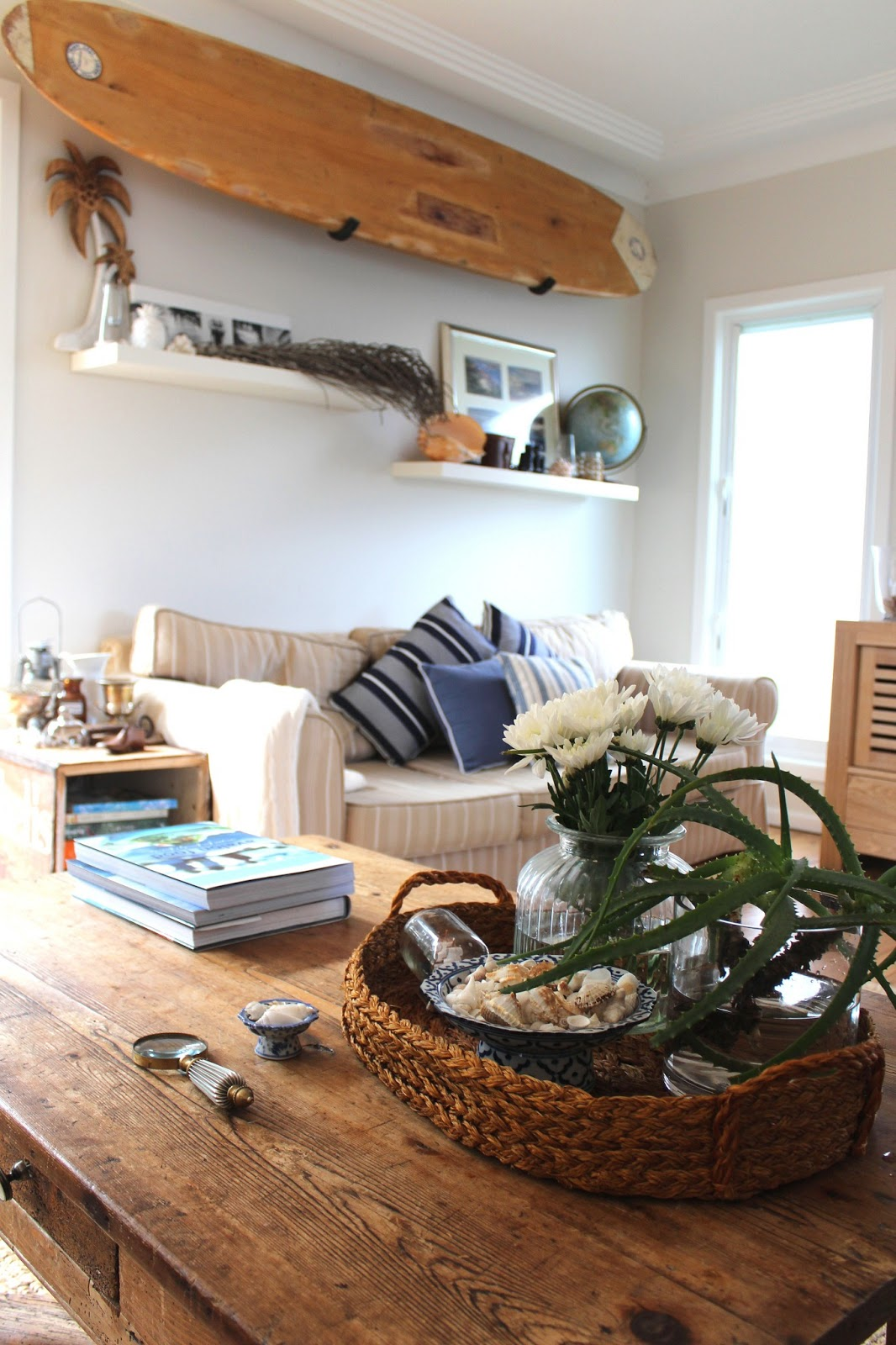Best Beach House Decor Styling A Coffee Table Desire Empire This Month