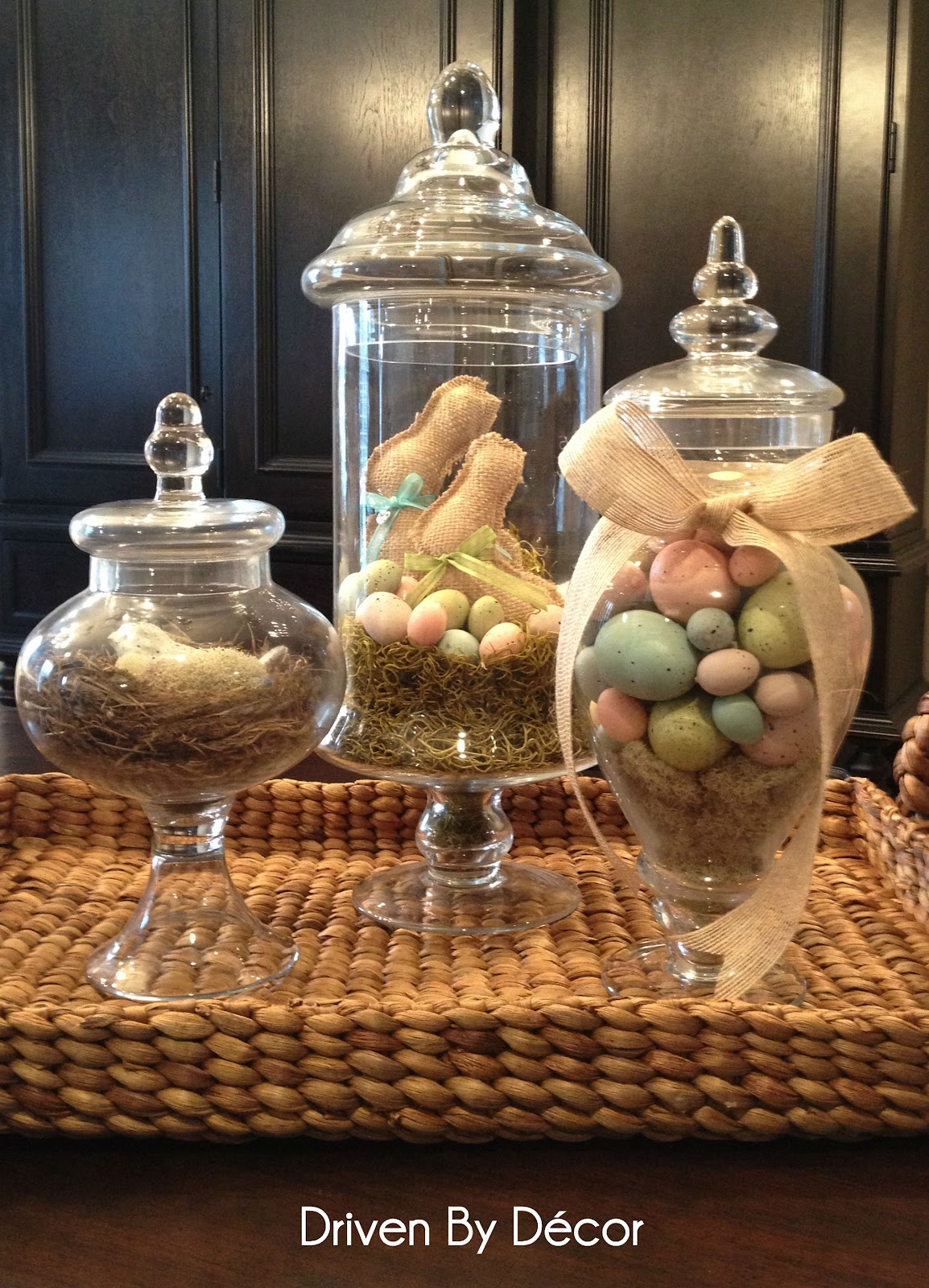 Best Apothecary Jars Decorated For Spring Easter Driven By Decor This Month