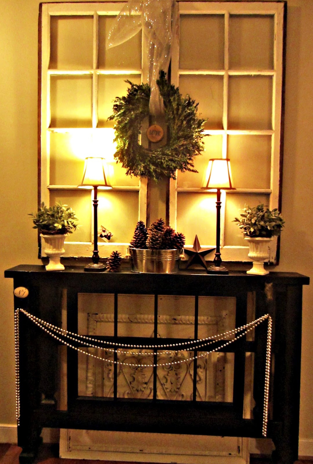 Best Down To Earth Style Foyer Christmas Mantel This Month