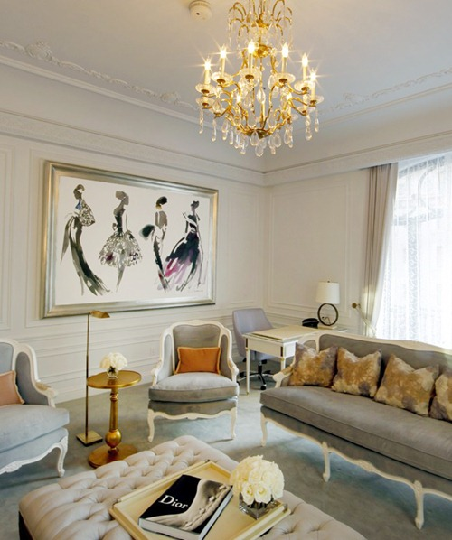 Best Chanel After Coco Interior Design The Dior Suite At The This Month