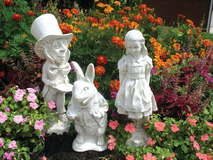 Best Alice In Wonderland Garden Statues Dark Class This Month