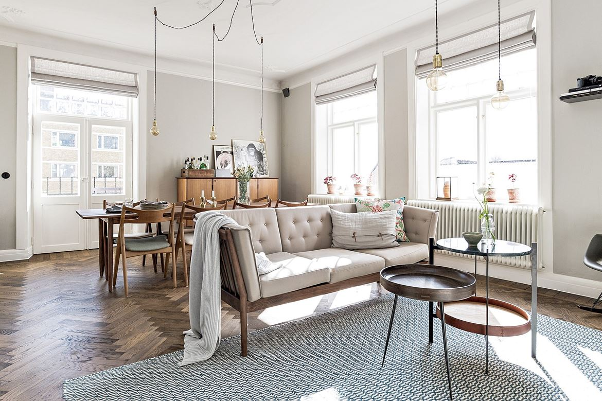 Best A Dreamy Scandinavian Apartment With Retro Vibes Daily This Month