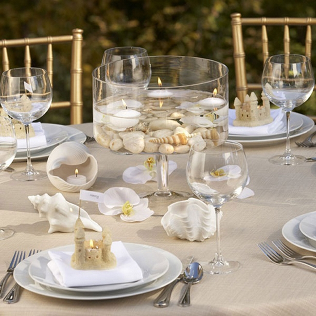 Best Sea Inspired Table Setting And Ideas For Your Beach Themed This Month