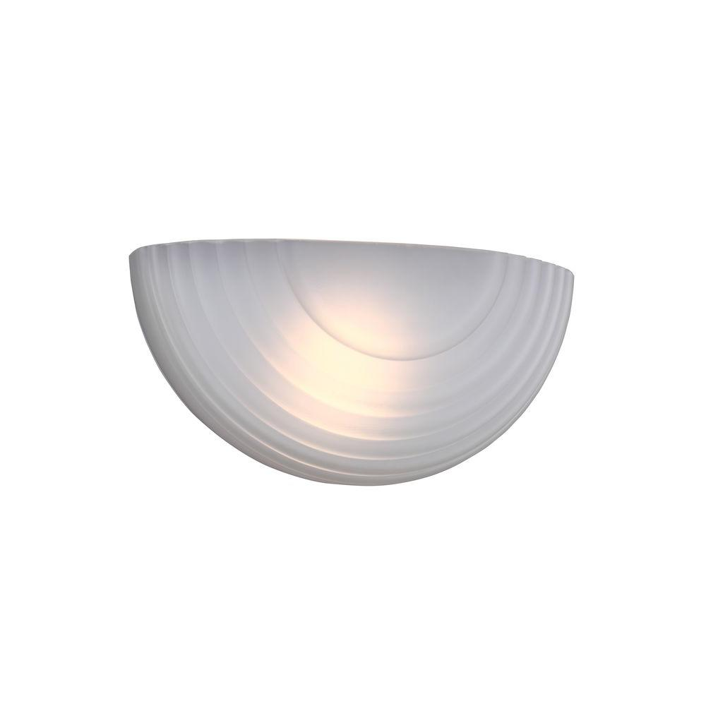 Best Sea Gull Lighting Decorative Wall Sconce 1 Light Led White This Month
