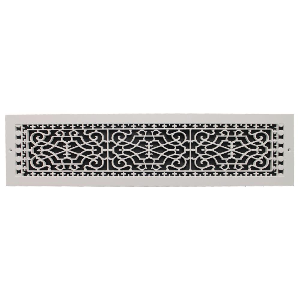 Best Decor Grates 6 In X 14 In Steel Cold Air Return Grille This Month