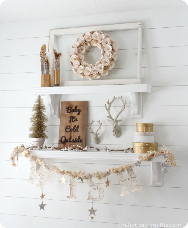 Best Winter Mantel And Winter Shelf Decorating Ideas This Month