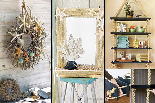 Best 36 Breezy Beach Inspired Diy Home Decorating Ideas Lil This Month