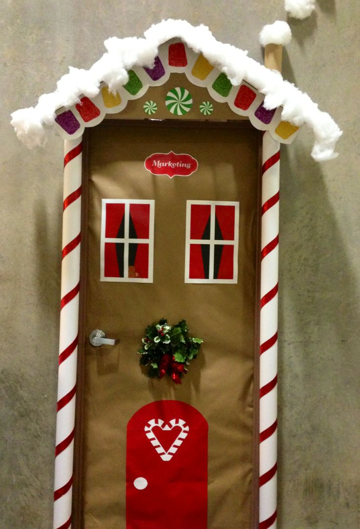Best Christmas Door Decorating Ideas The Xerxes This Month