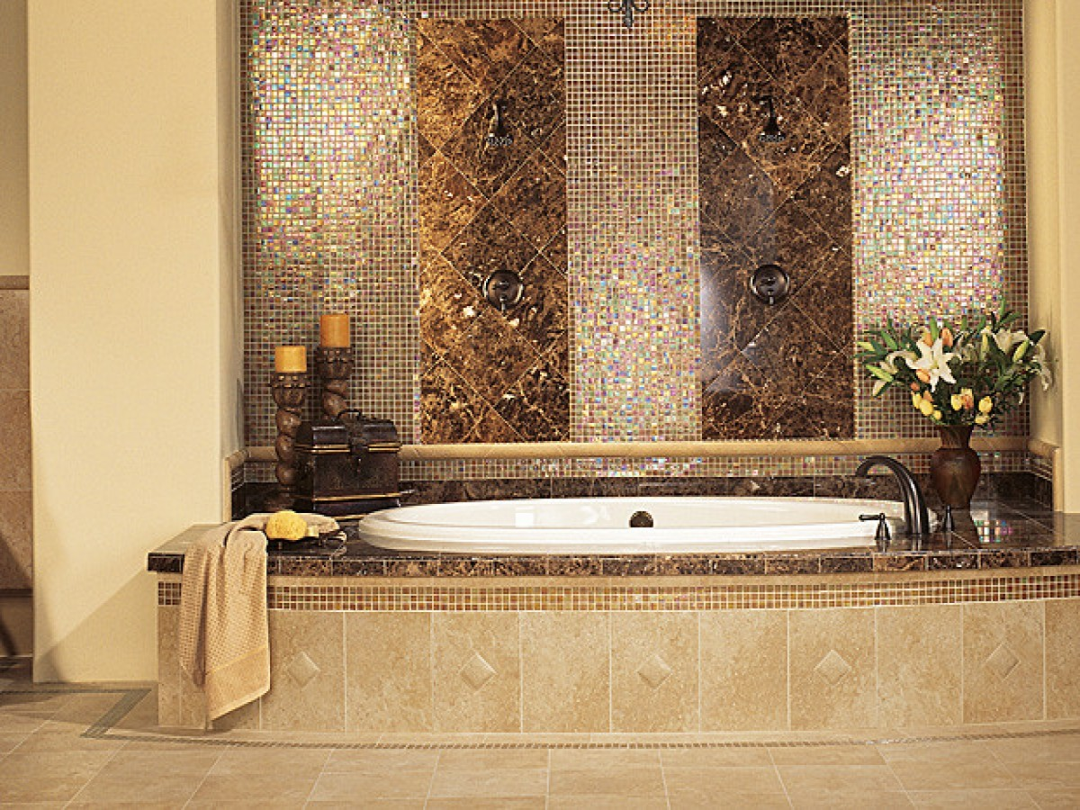 Best 30 Beautiful Ideas And Pictures Decorative Bathroom Tile This Month