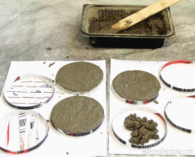 Best Diy Concrete Coasters With Decorative Inserts The 36Th This Month