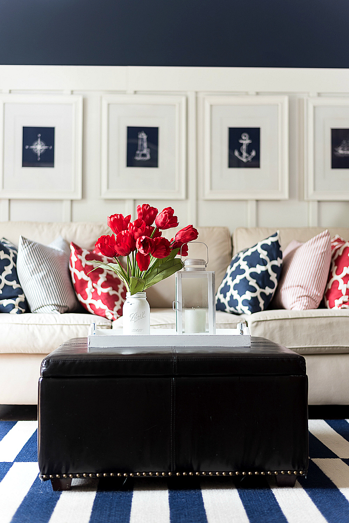Best Red White Blue Americana Summer Decor It All Started This Month