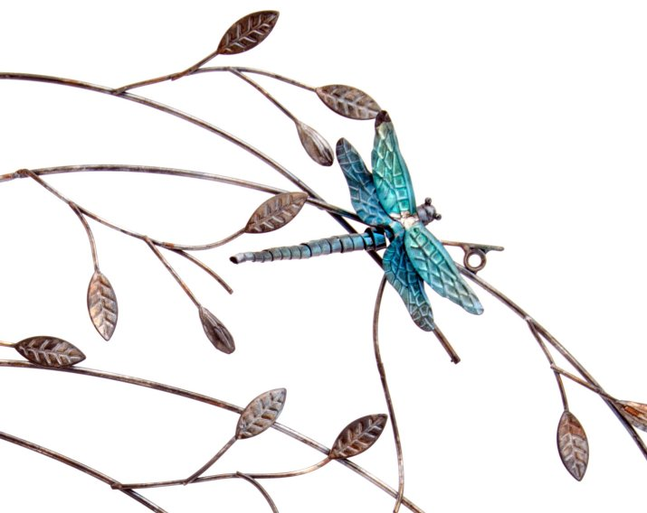 Best Metal Wall Art New Wall Decor Dragonfly Branch Ebay This Month