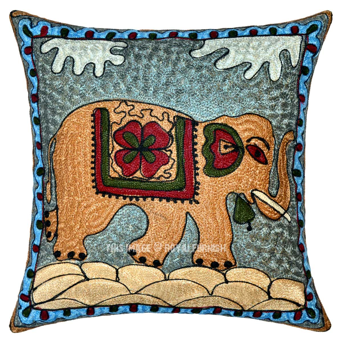 Best 16 Cotton Multicolored Decorative Embroidered Elephant This Month