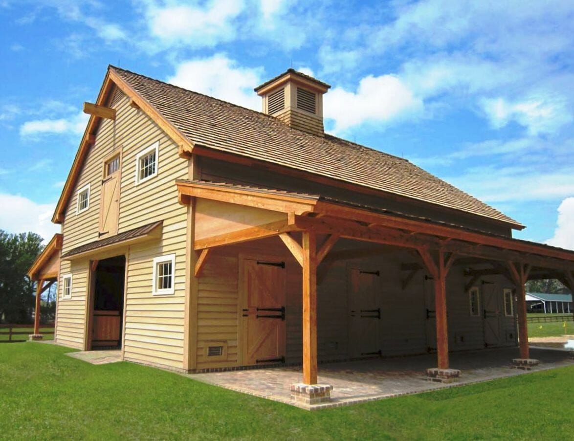 Best Carolina Horse Barn Handcrafted Timber Stable This Month