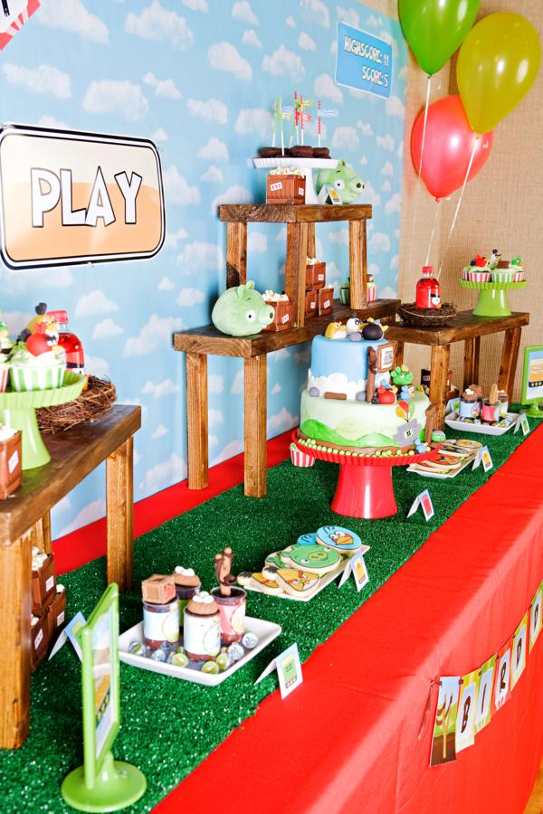 Best Kara S Party Ideas Angry Birds Boy Video Game Birthday This Month