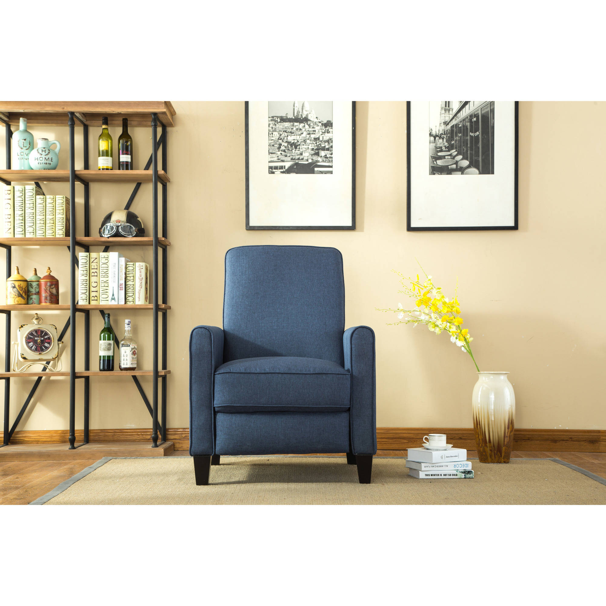 Best Selling Home Decor Darvis Push Back Recliner This Month