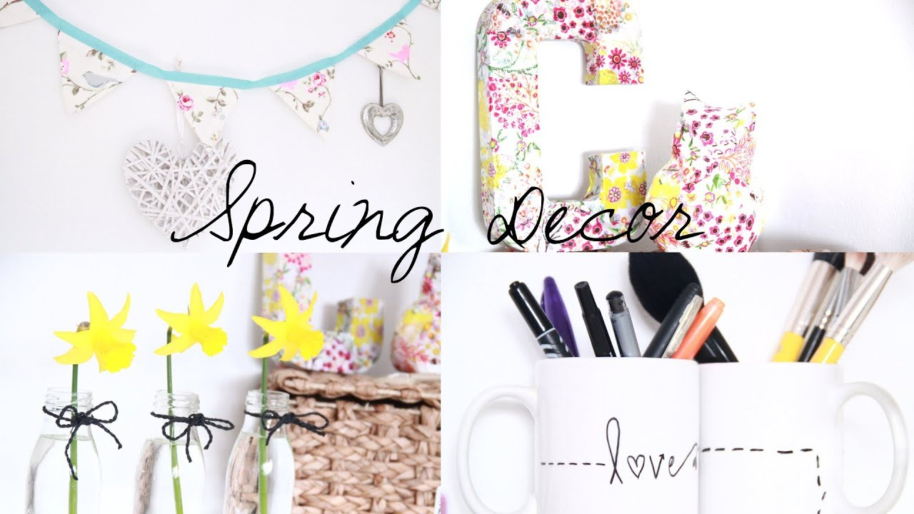 Best Diy Spring Room Decor Inspiration Youtube This Month
