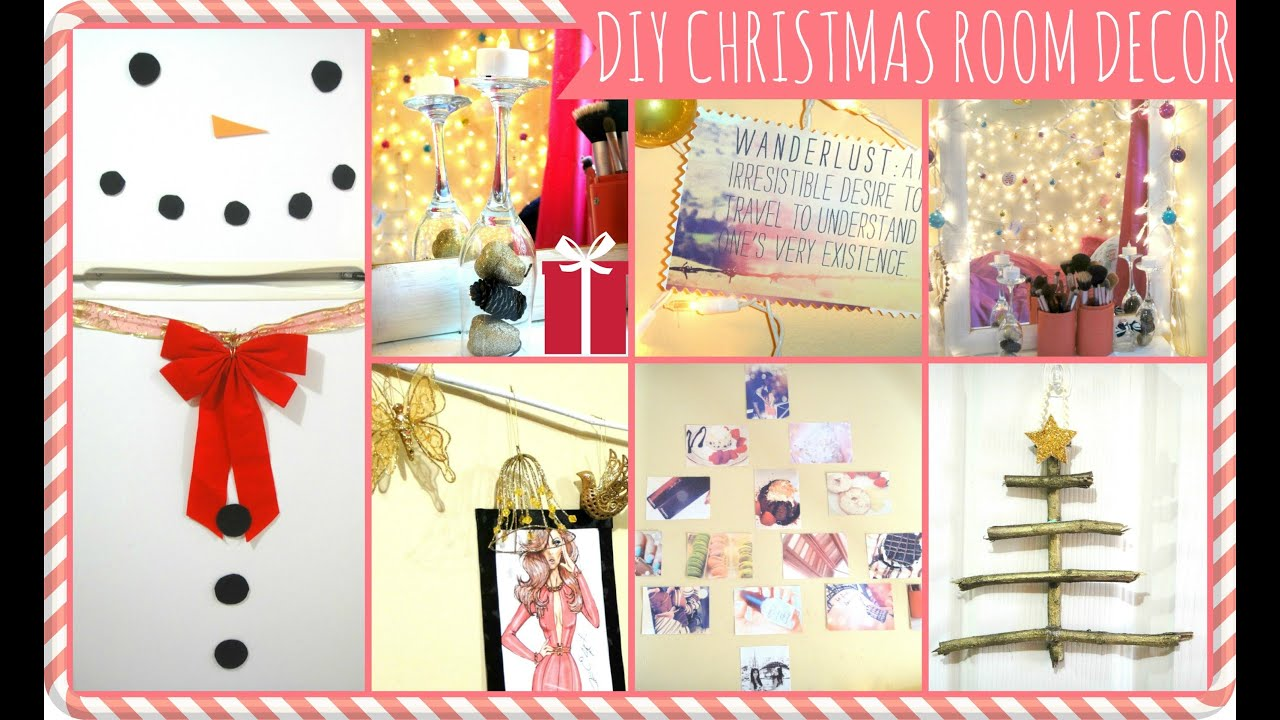 Best Easy Diy Christmas Décor Ideas Dormspiration Youtube This Month