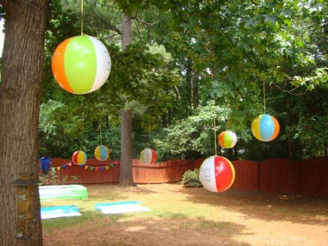 Best 23 Colorful Kid's Pool Party Decorations Shelterness This Month
