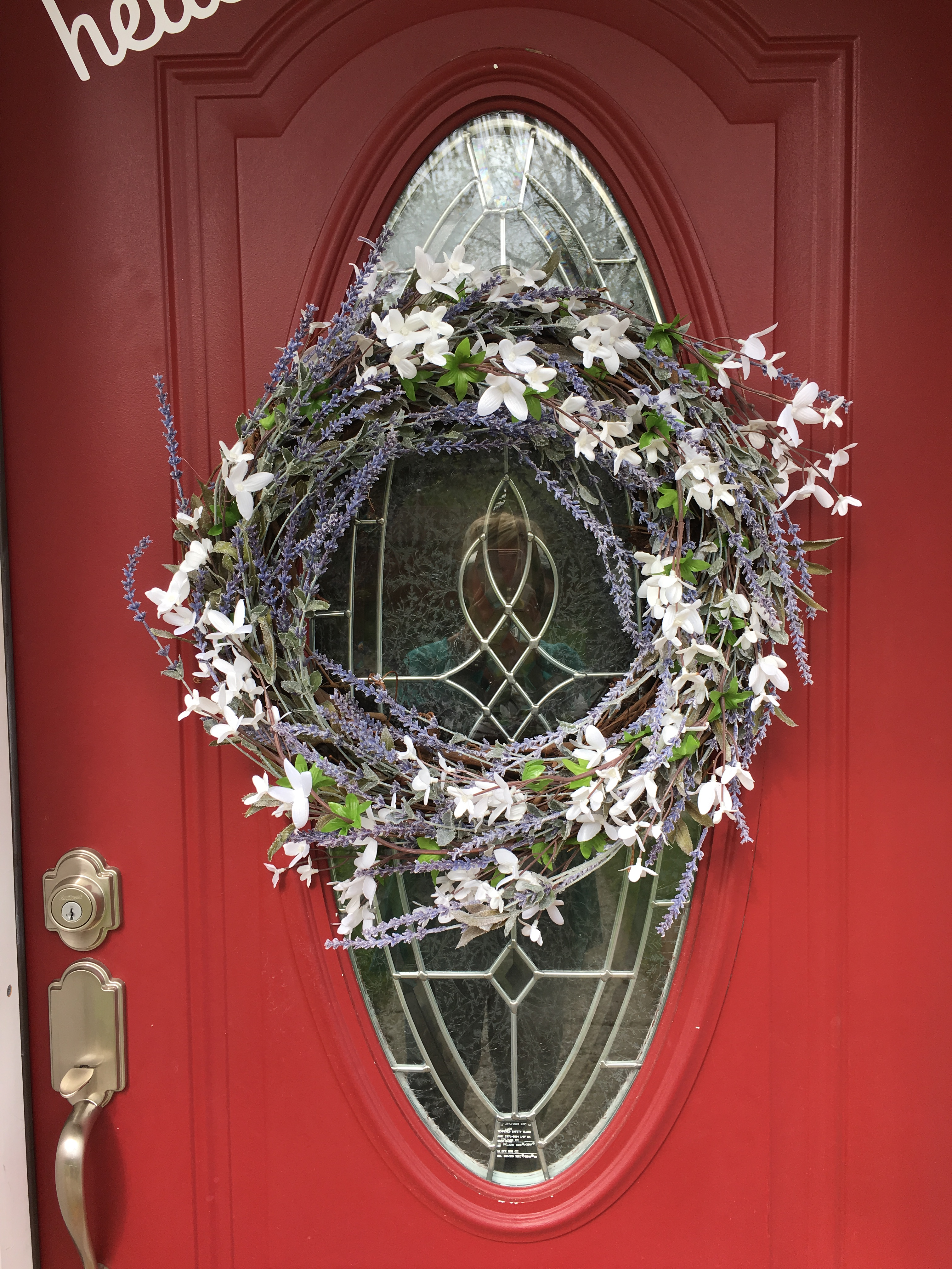 Best Lavender Wreath For Front Door Or Interior Decor Home This Month