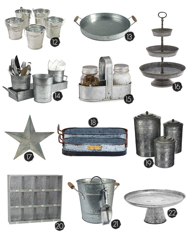 Best 25 Galvanized Home Decor Ideas To Inspire This Month