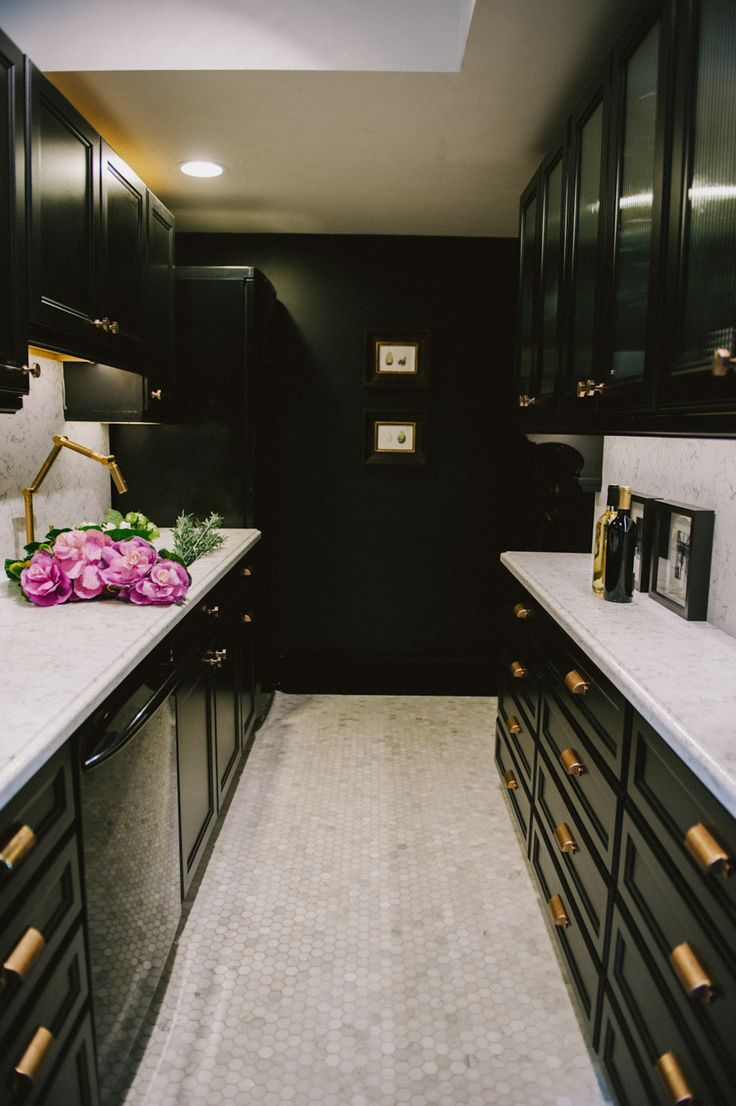 Best 53 Stylish Black Kitchen Designs Decoholic This Month