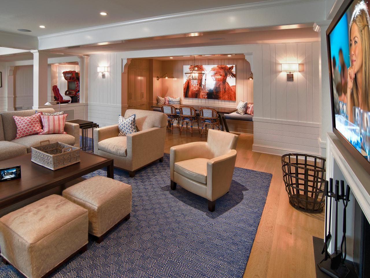 Best Basement Finishing Ideas And Options Hgtv This Month