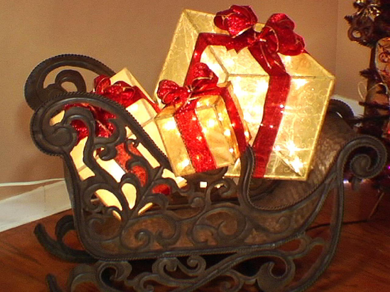 Best Create A Lighted Holiday Gift Box Hgtv This Month