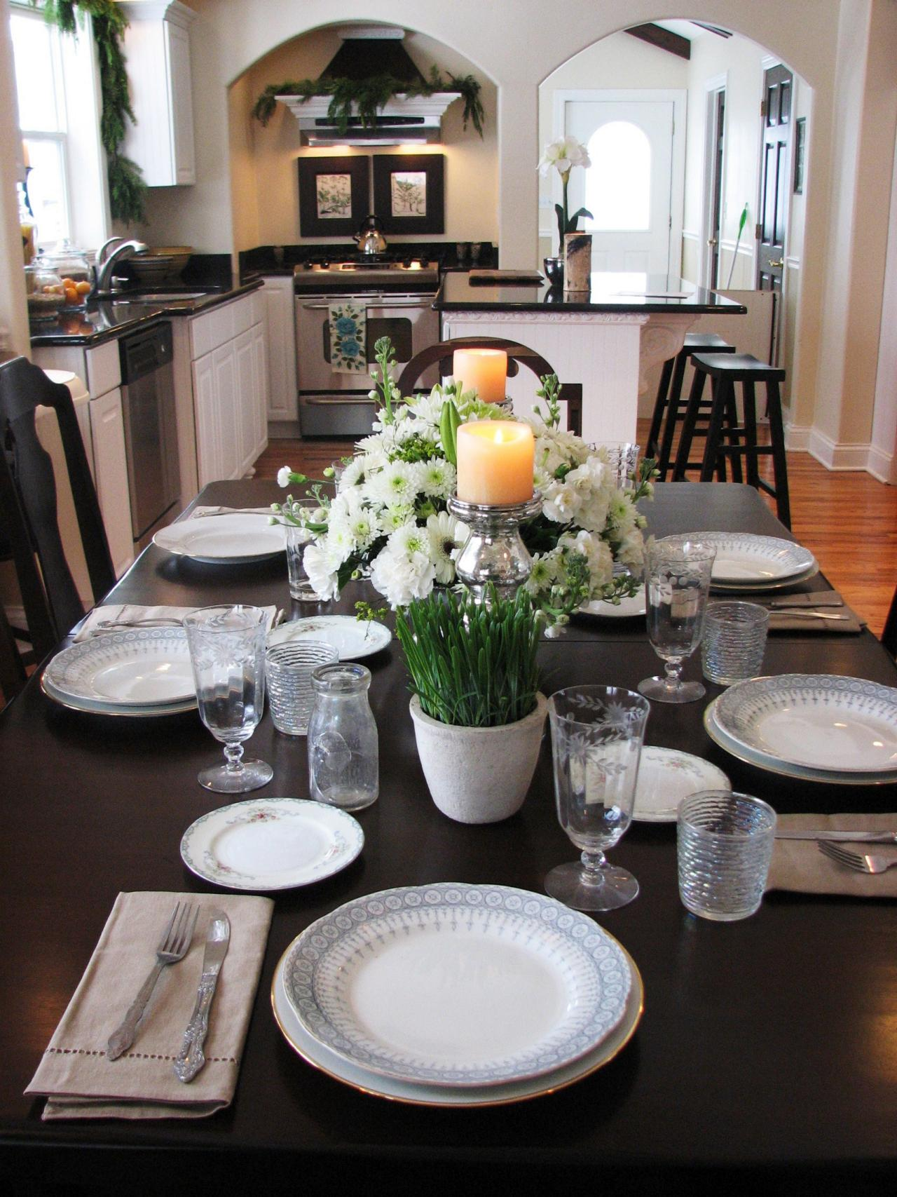 Best Kitchen Table Centerpiece Design Ideas Hgtv Pictures Hgtv This Month