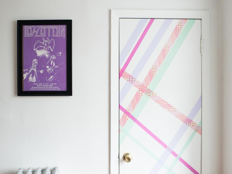 Best 10 Ways To Transform Your Space With Washi Tape Hgtv This Month