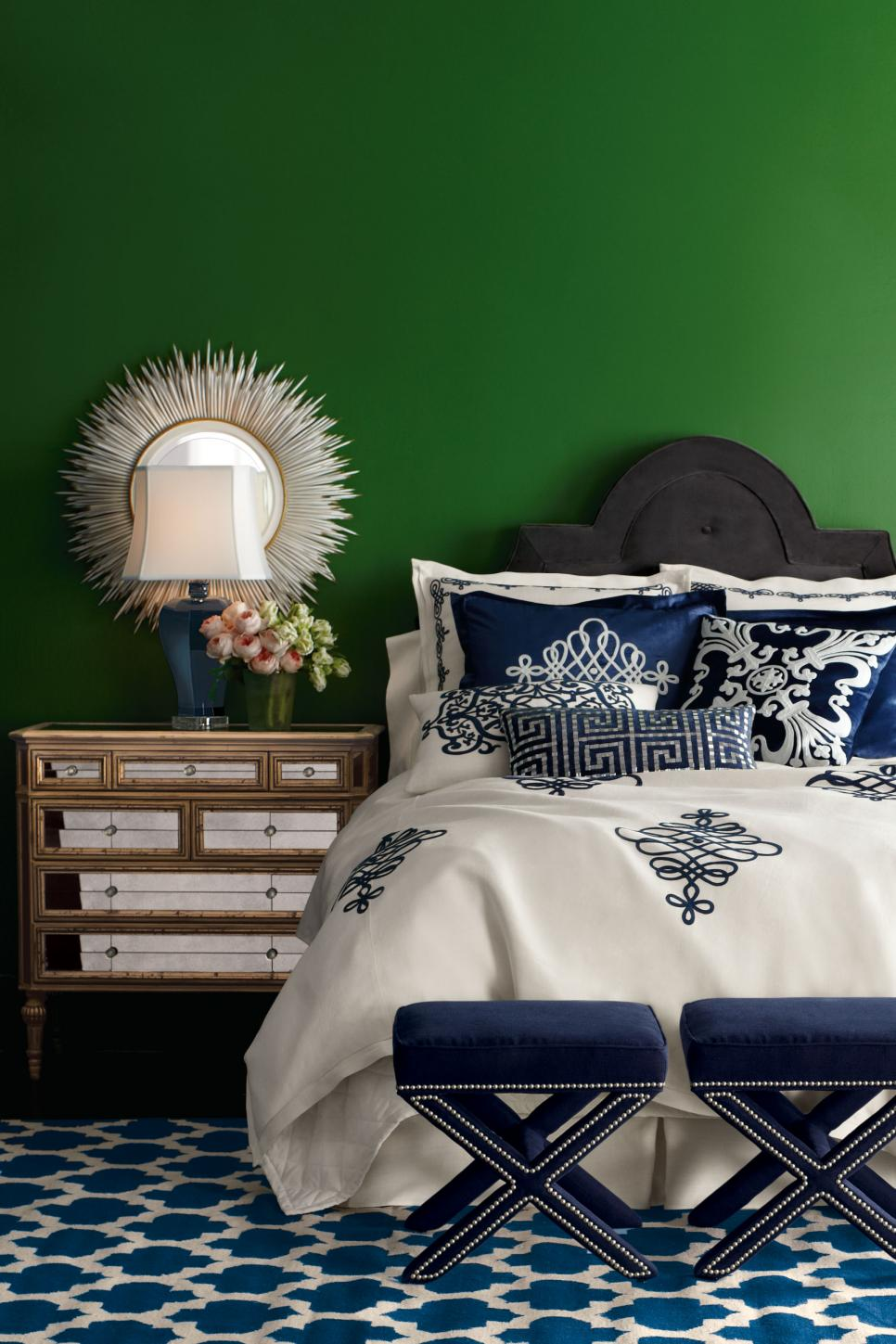 Best Decorating With Emerald Green Green Decorating Ideas Hgtv This Month