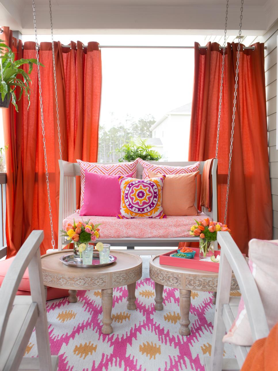 Best Patio Decorating Ideas For Spring Hgtv This Month