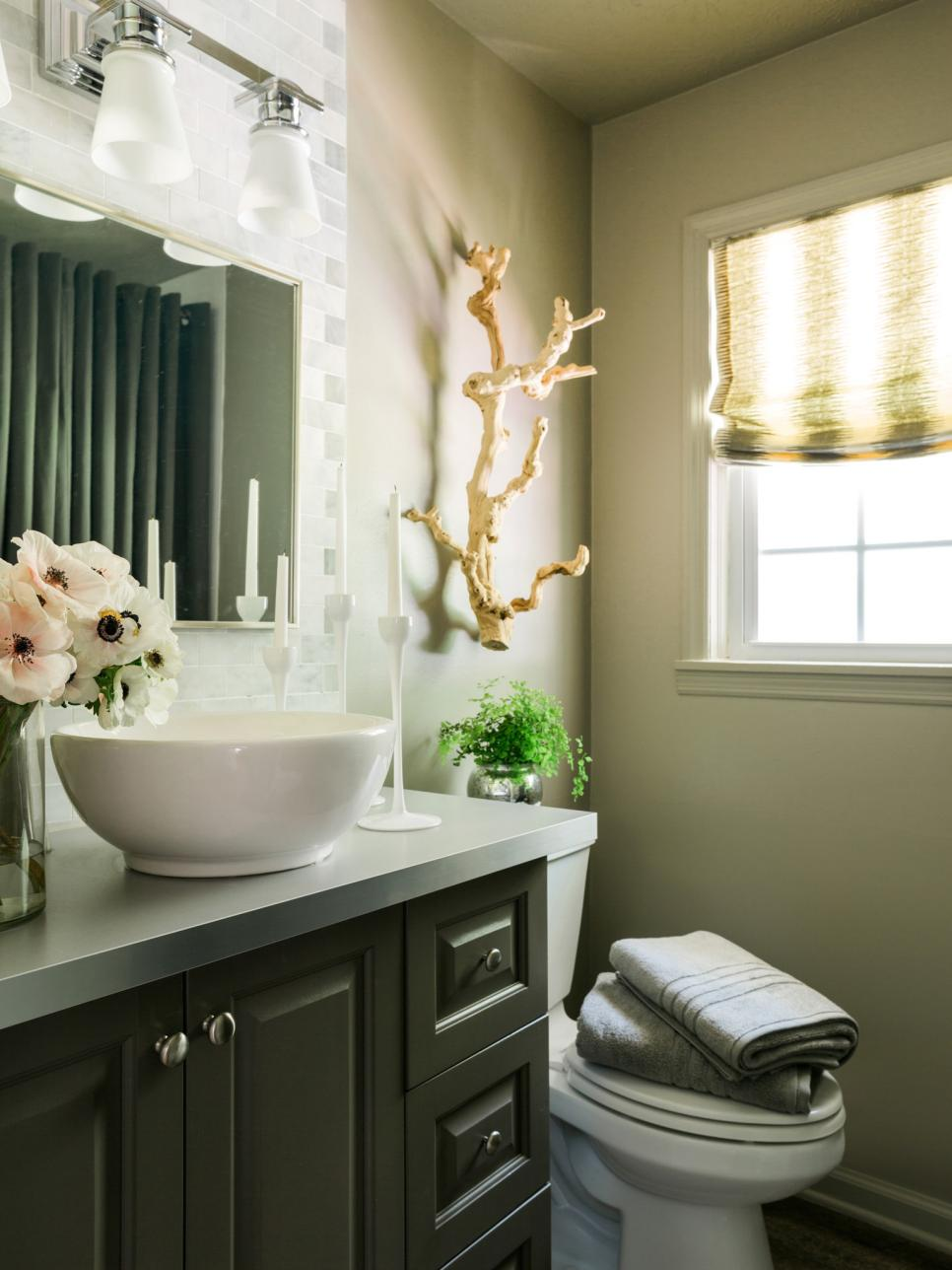 Best Freshen Up Your Powder Room For Holiday Guests Hgtv This Month